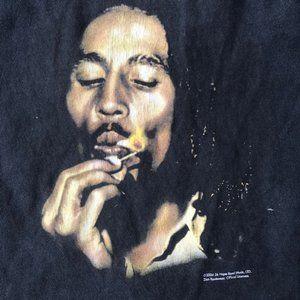 Bob Marley T shirt Zion Rootswear 2004 Retro